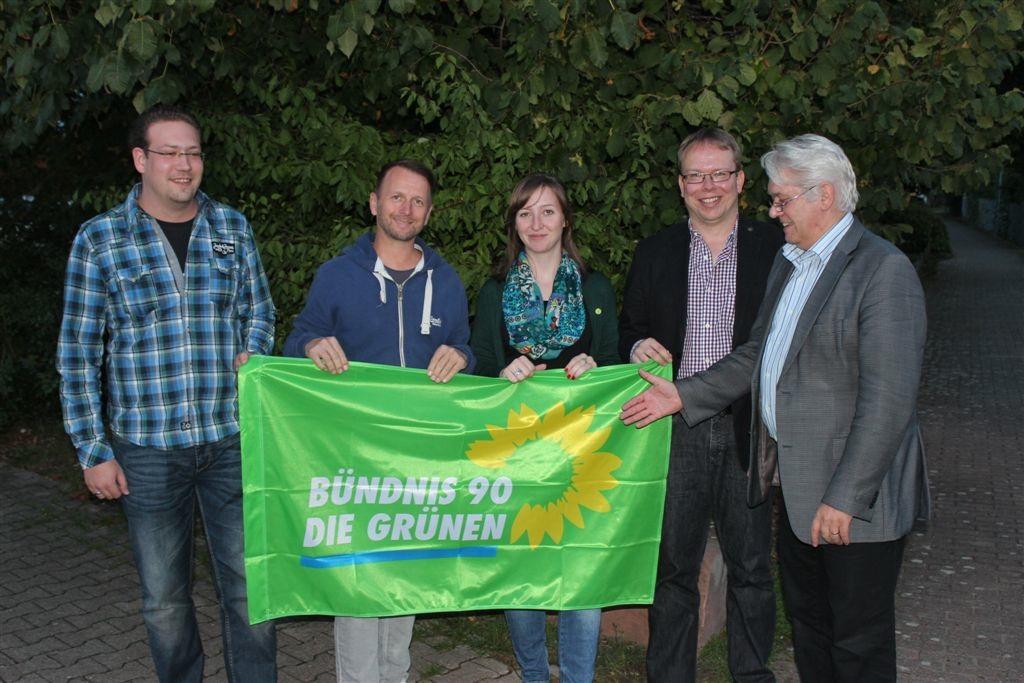 Der Ortsvereins Vorstand der Grünen Reilingen
