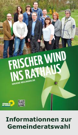 Frischer Wind ins Rathaus – Informationen zur Gemeinderatswahl